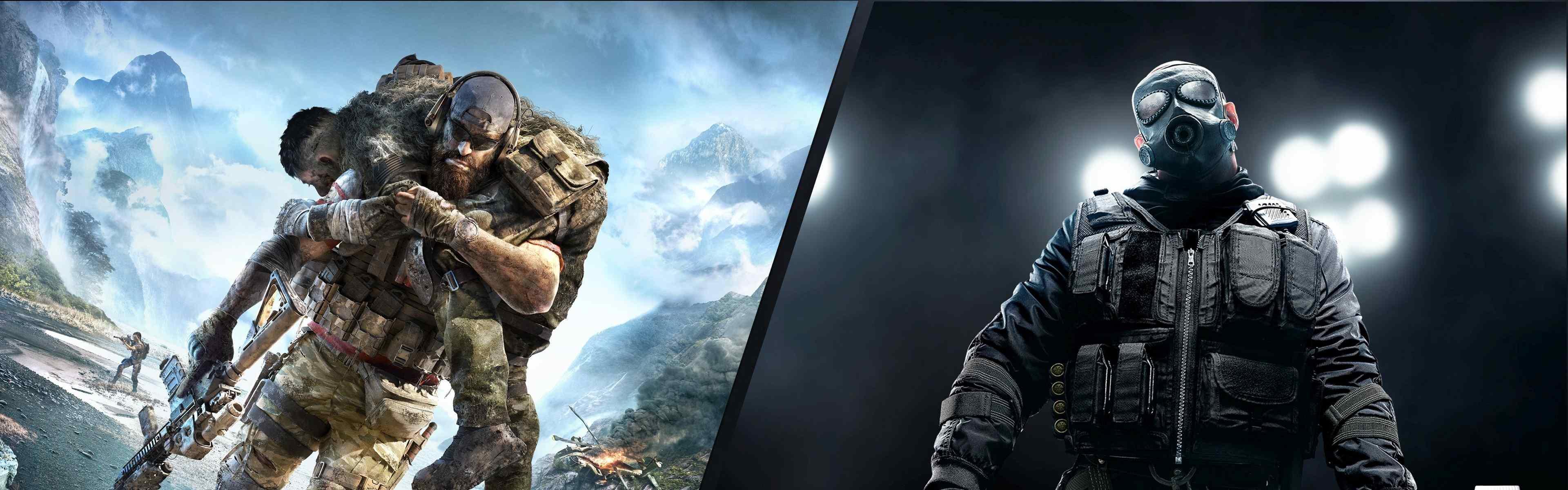 Tom Clancy's Rainbow Six: Siege and Tom Clancy's Ghost Recon: Breakpoint Bundle (Xbox One) Xbox Live Key UNITED STATES