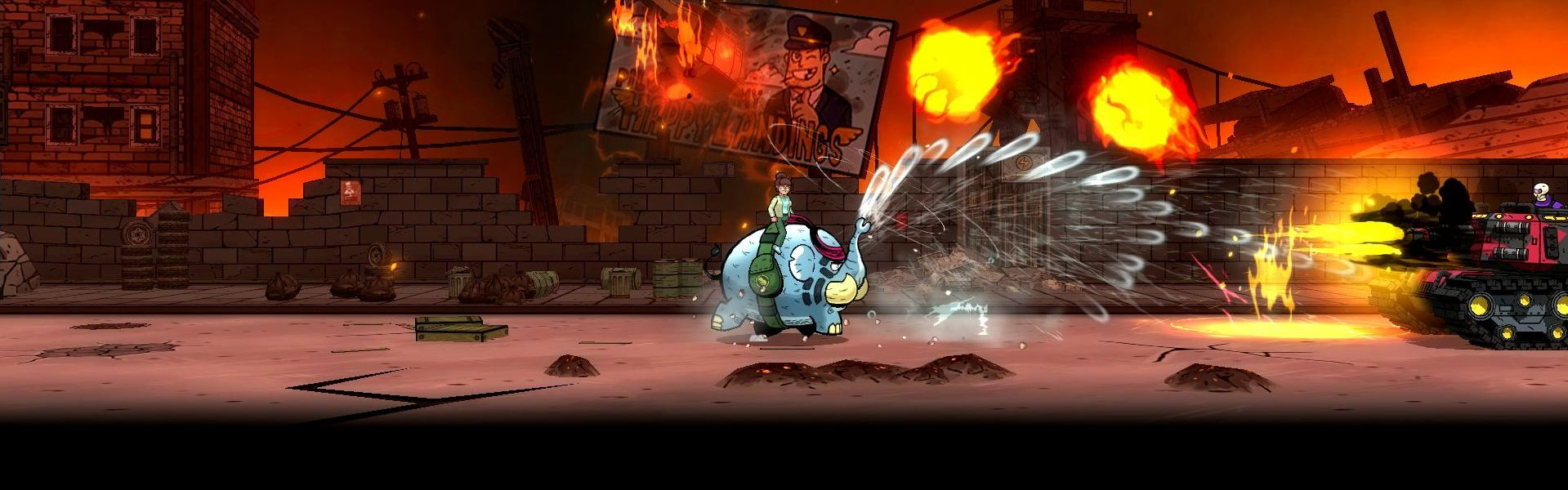 Tembo The Badass Elephant Steam Key GLOBAL
