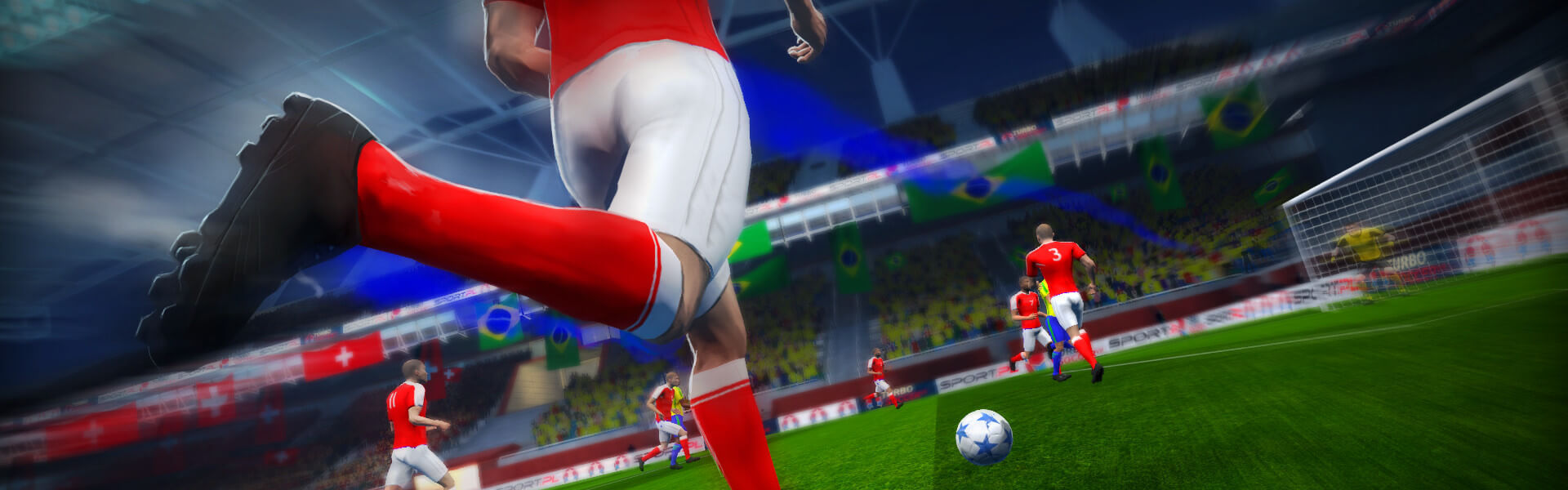 Turbo Soccer VR Steam Key GLOBAL