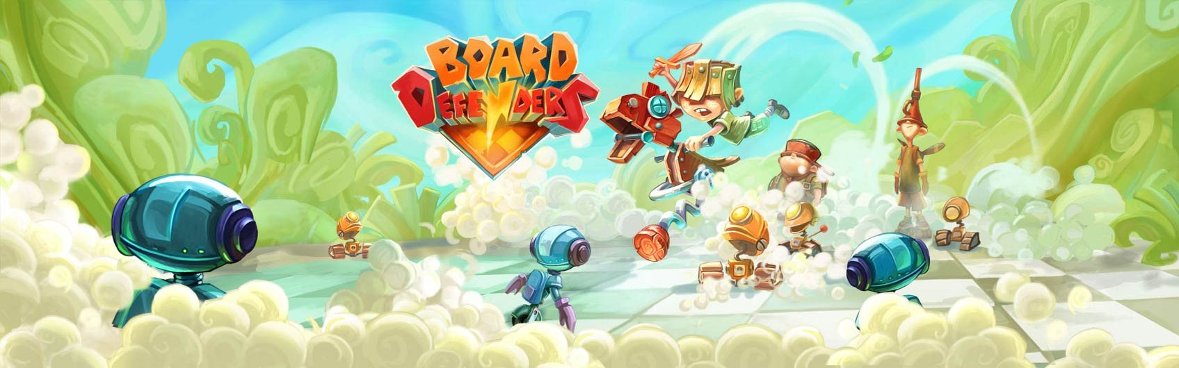 Board Defenders Steam Key GLOBAL