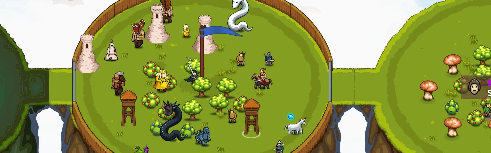 Circle Empires: Apex Monsters! Steam Key GLOBAL