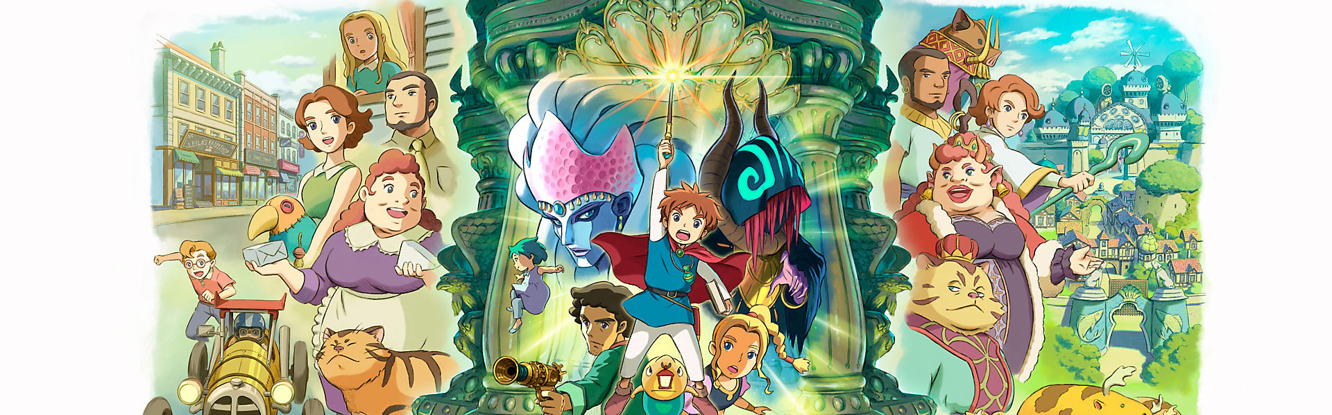 Ni no Kuni: Wrath of the White Witch Remastered Steam Key EUROPE
