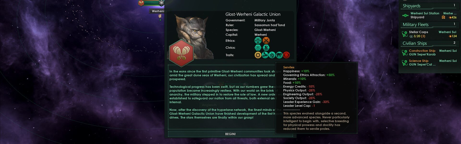 Stellaris: Leviathans Story Pack (DLC) Steam Key GLOBAL
