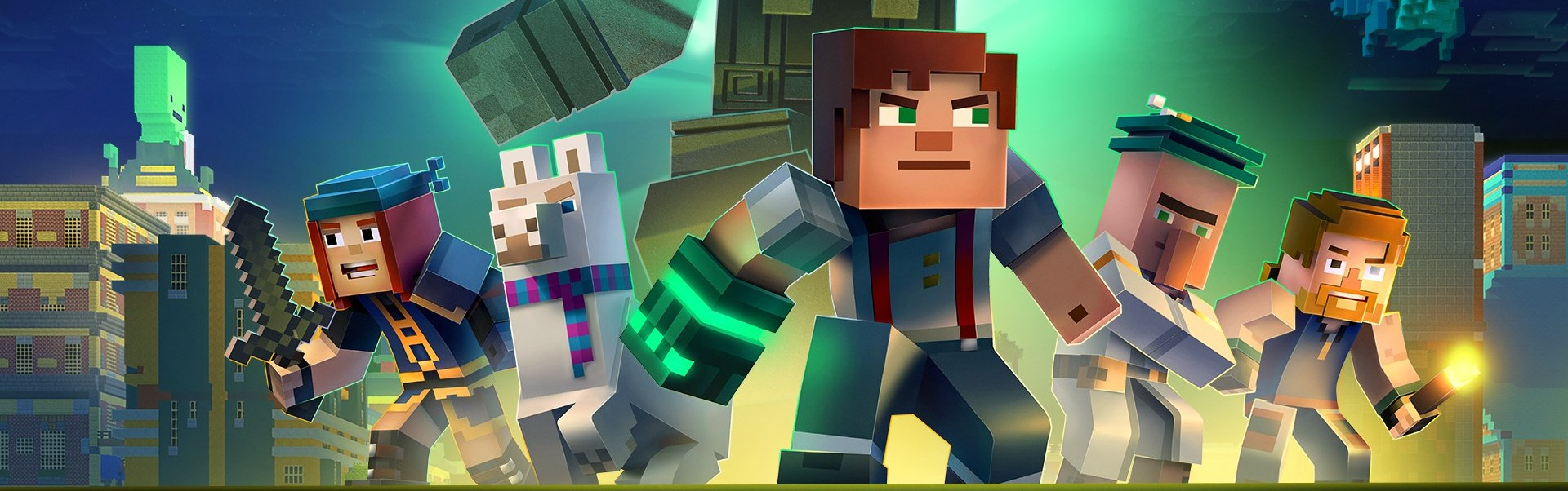 Minecraft: Story Mode - Adventure Pass (DLC) Steam Key GLOBAL