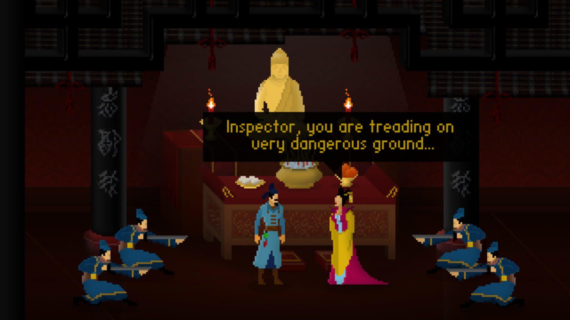 Detective Di: The Silk Rose Murders Steam Key GLOBAL