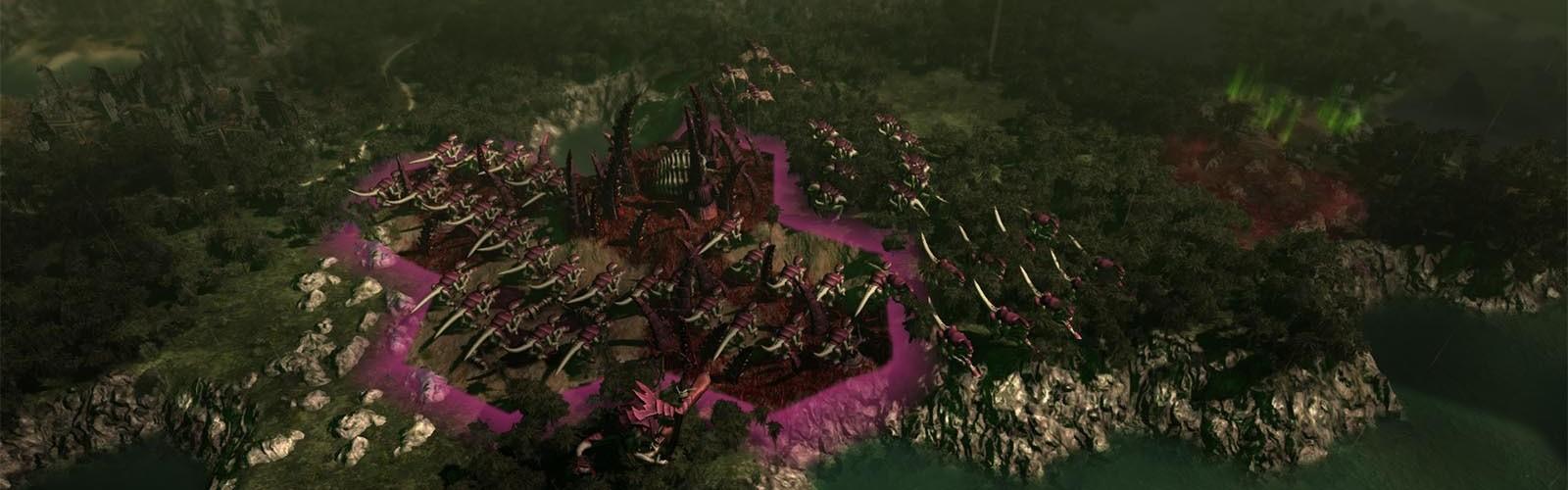 Warhammer 40,000: Gladius - Tyranids (DLC) Steam Key GLOBAL