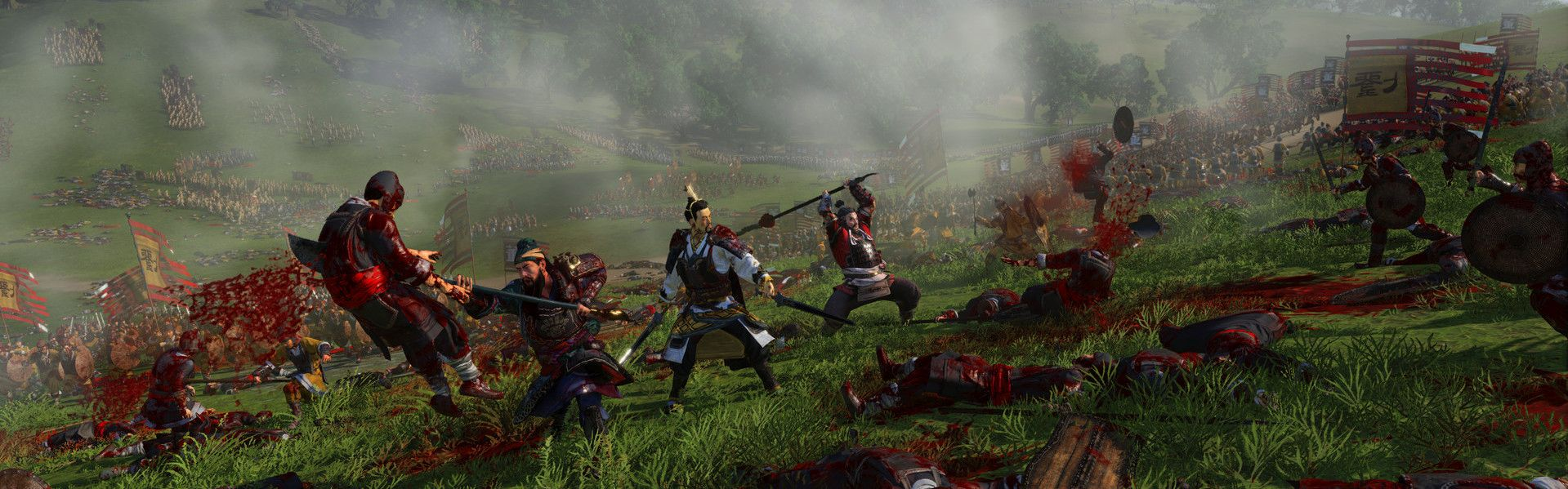 Total War: Three Kingdoms - Reign of Blood (DLC) Steam Key GLOBAL