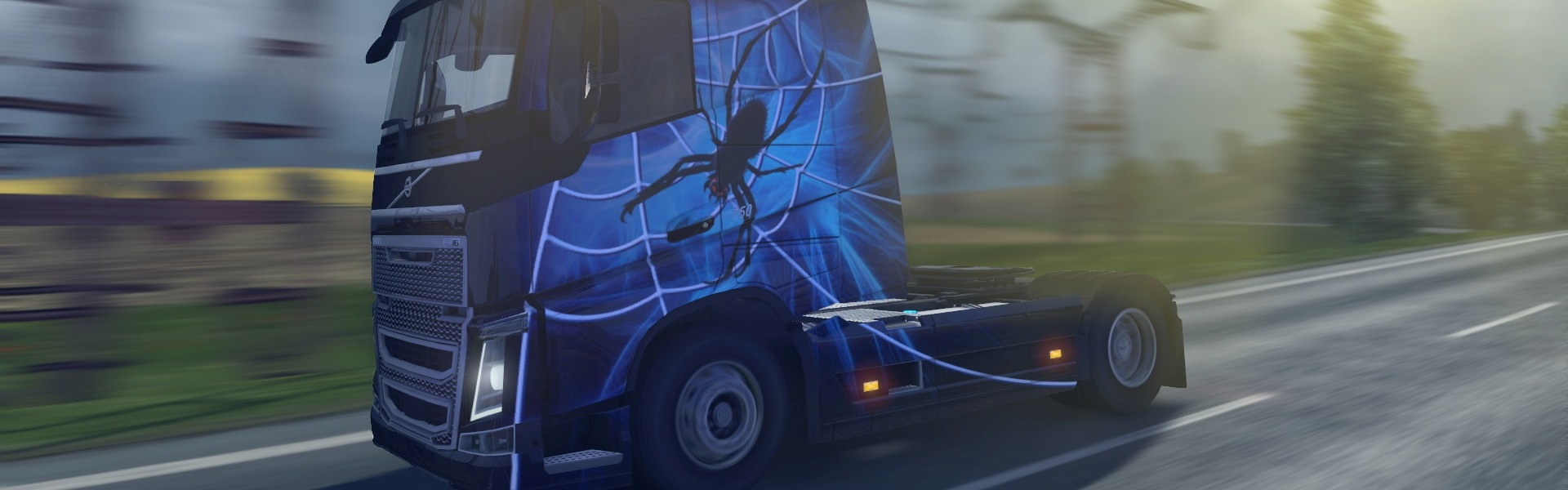 Euro Truck Simulator 2 - Halloween Paint Jobs Pack (DLC) Steam Key GLOBAL