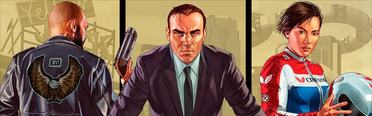 Grand Theft Auto V: Criminal Enterprise Starter Pack (DLC) (PS4) PSN Key EUROPE