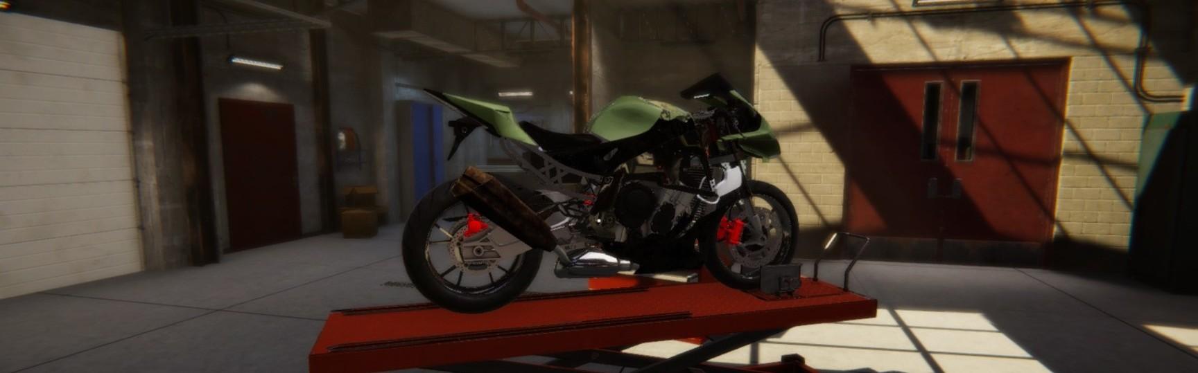 Biker Garage: Mechanic Simulator Steam Key GLOBAL
