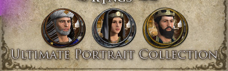 Crusader Kings II - Ultimate Portrait Pack Collection (DLC) Steam Key GLOBAL