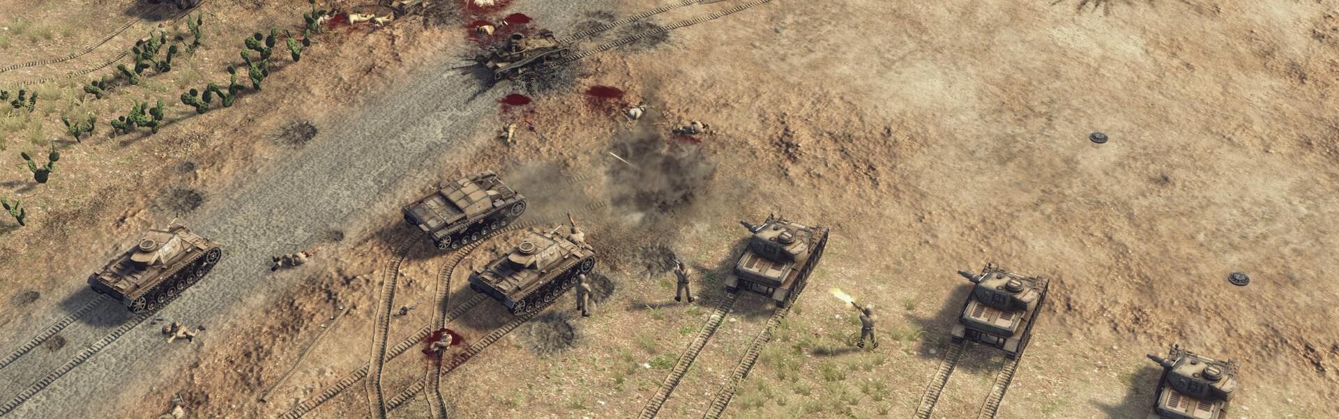 Sudden Strike 4 - Africa Desert War (DLC) Steam Key GLOBAL