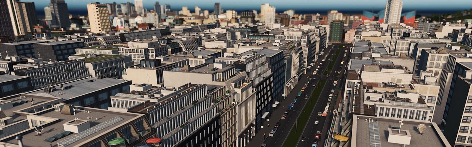 Cities: Skylines - Content Creator Pack: Modern City Center (DLC) Steam Key GLOBAL