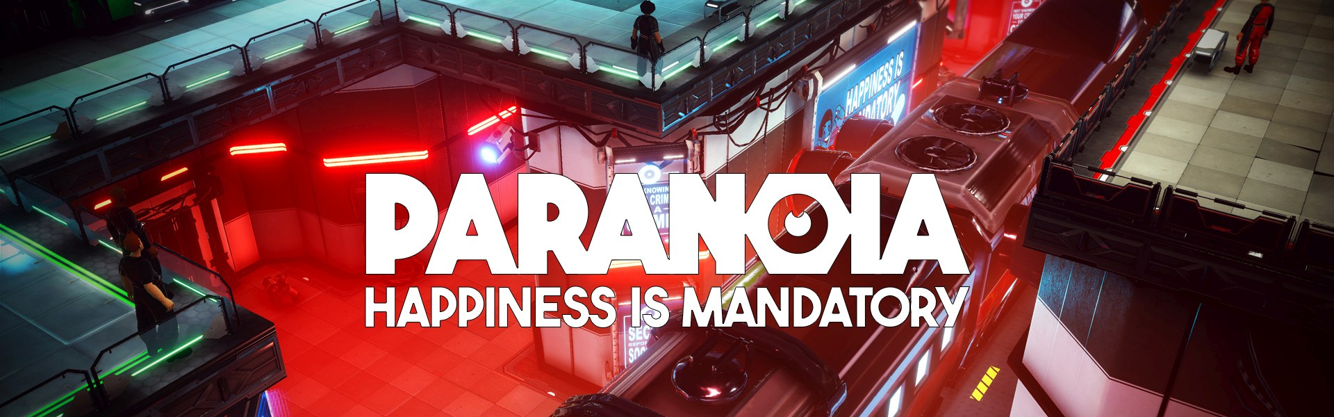 Paranoia: Happiness is Mandatory Epic Games Key GLOBAL
