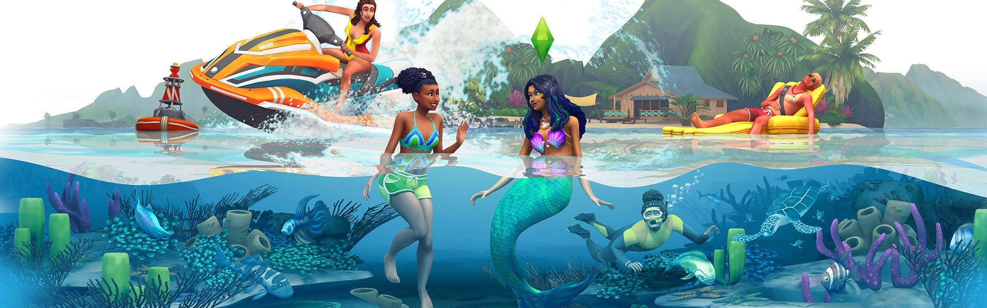The Sims 4: Island Living (DLC) Origin Clave GLOBAL