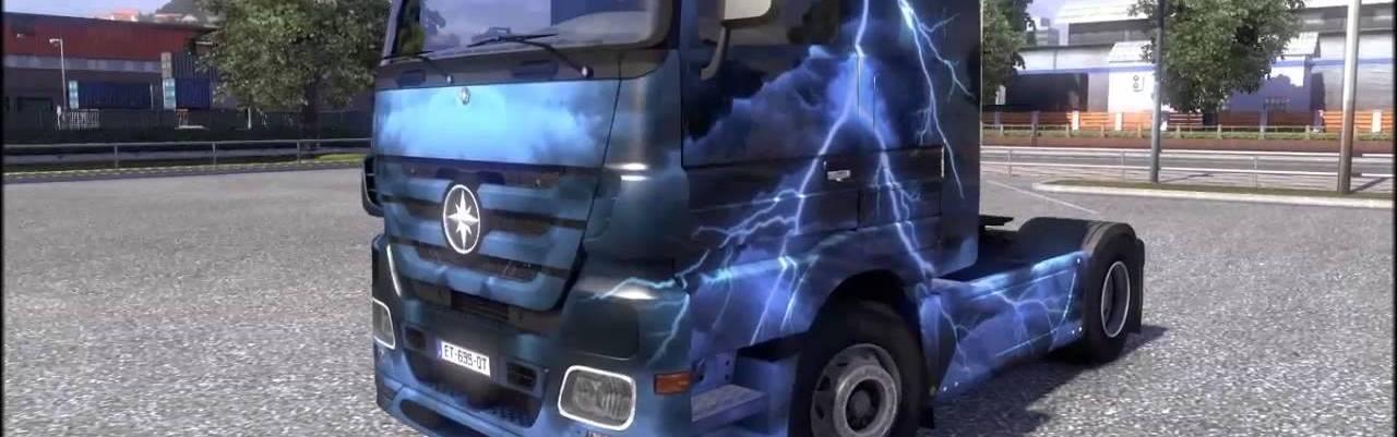 Euro Truck Simulator 2 - Force of Nature Paint Jobs Pack (DLC) Steam Key GLOBAL