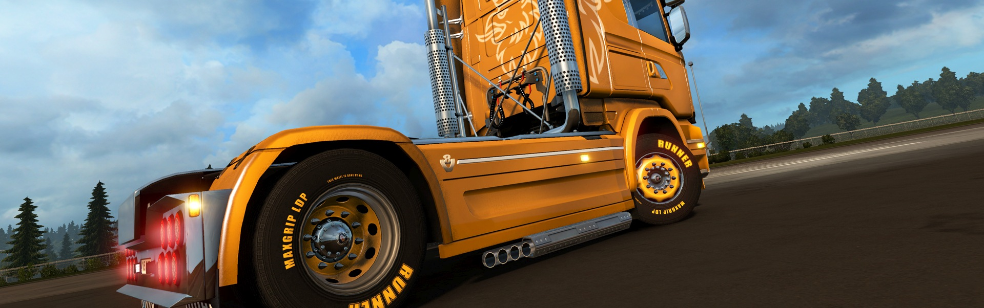 Euro Truck Simulator 2 - Mighty Griffin Tuning Pack (DLC) Steam Key GLOBAL