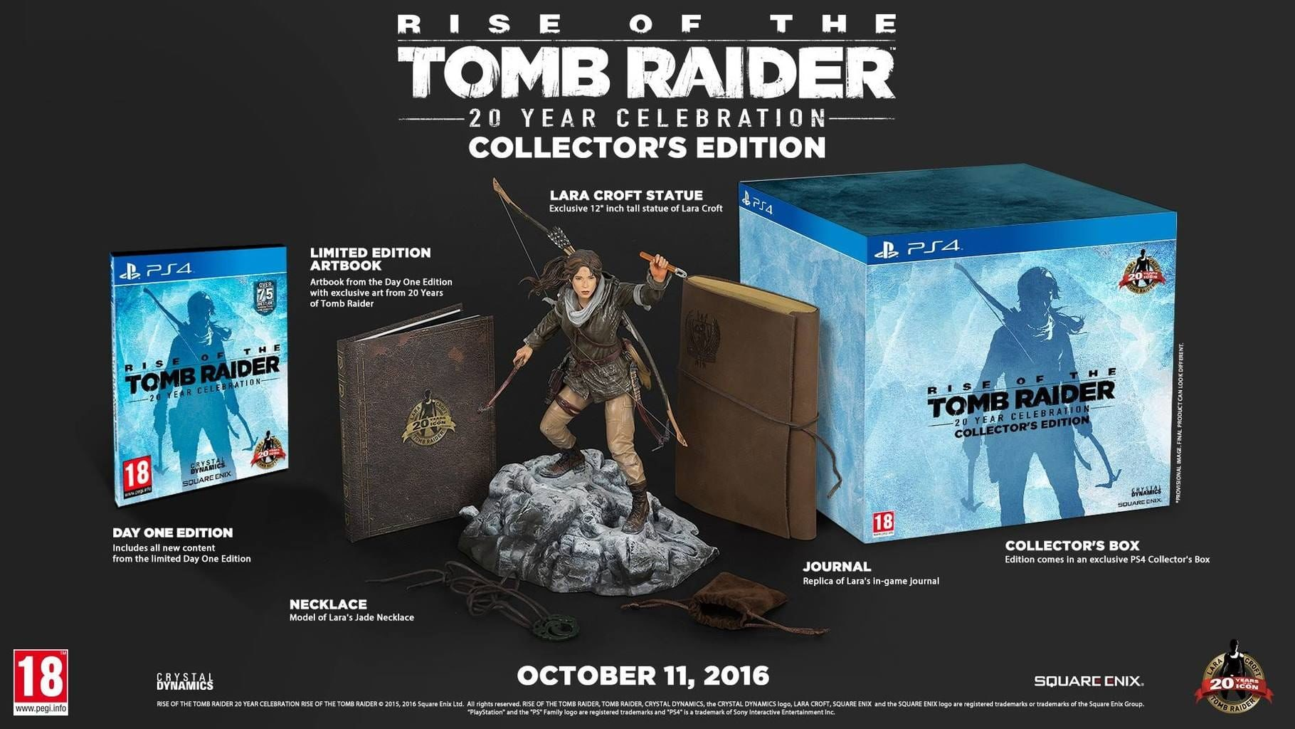 Rise of the Tomb Raider: 20 Year Celebration XBOX LIVE Key GLOBAL