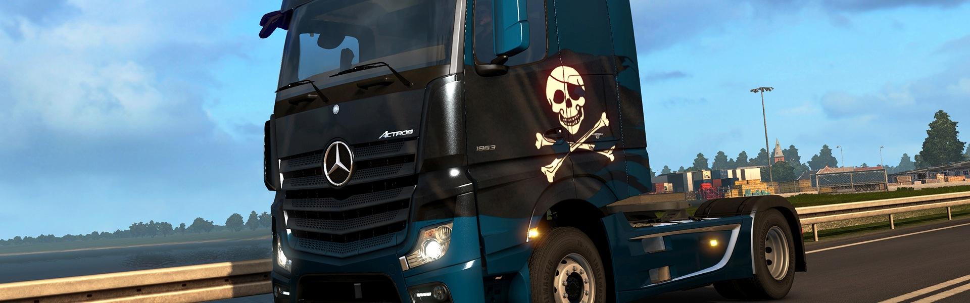 Euro Truck Simulator 2 - Pirate Paint Jobs Pack (DLC) Steam Key GLOBAL