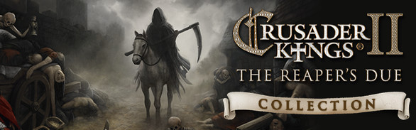 Crusader Kings II - The Reaper's Due Collection (DLC) Steam Key GLOBAL