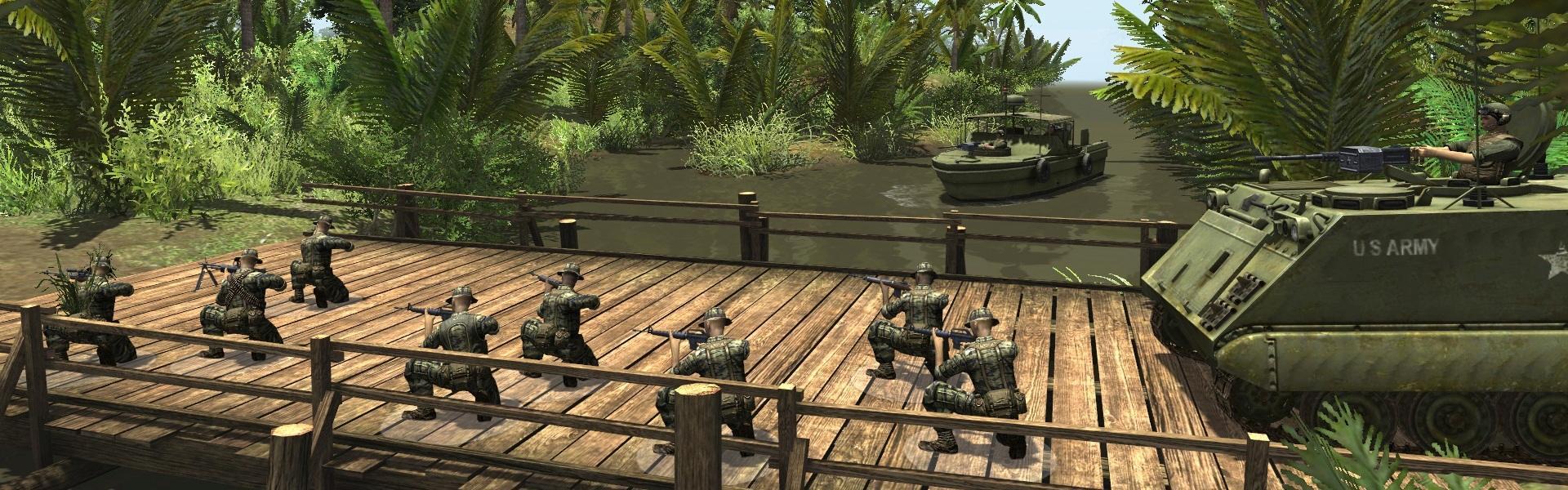 Men of War: Vietnam Steam Key GLOBAL