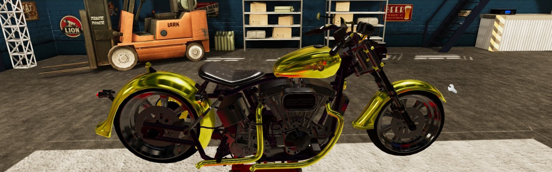 Motorbike Garage Mechanic Simulator Steam Key GLOBAL