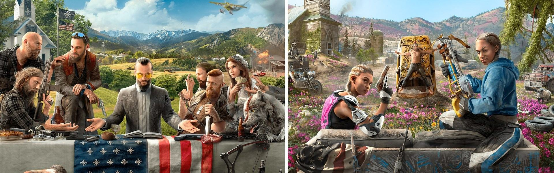 Far Cry New Dawn Deluxe Edition + Far Cry 5 Complete Bundle Uplay Key GLOBAL