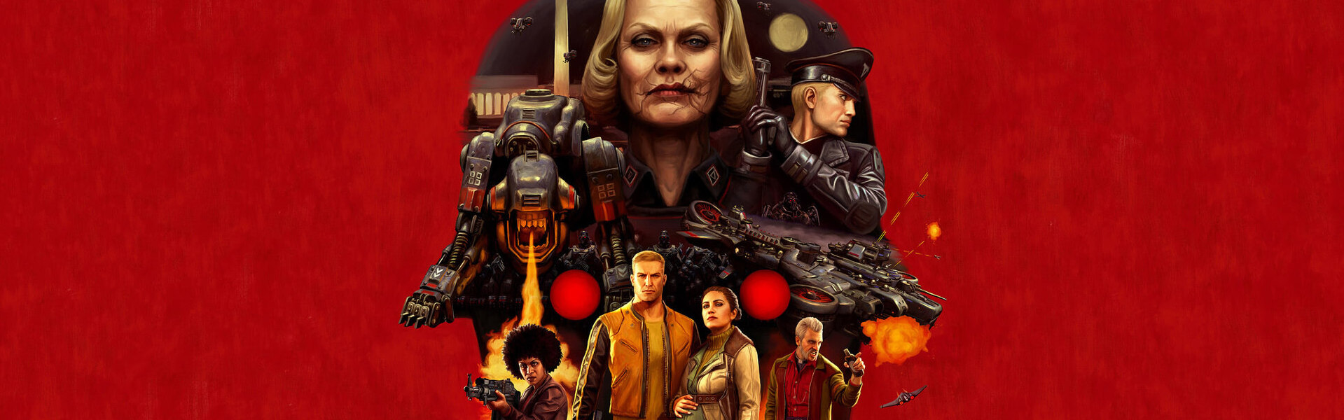 Wolfenstein II: The New Colossus (Deluxe Edition) Steam Key EUROPE