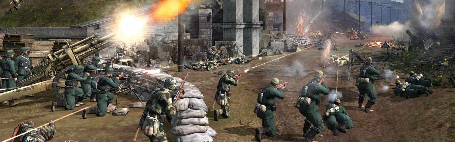Company of Heroes 2 - German Skin: Four Color Disruptive Pattern Bundle (DLC) Steam Key GLOBAL