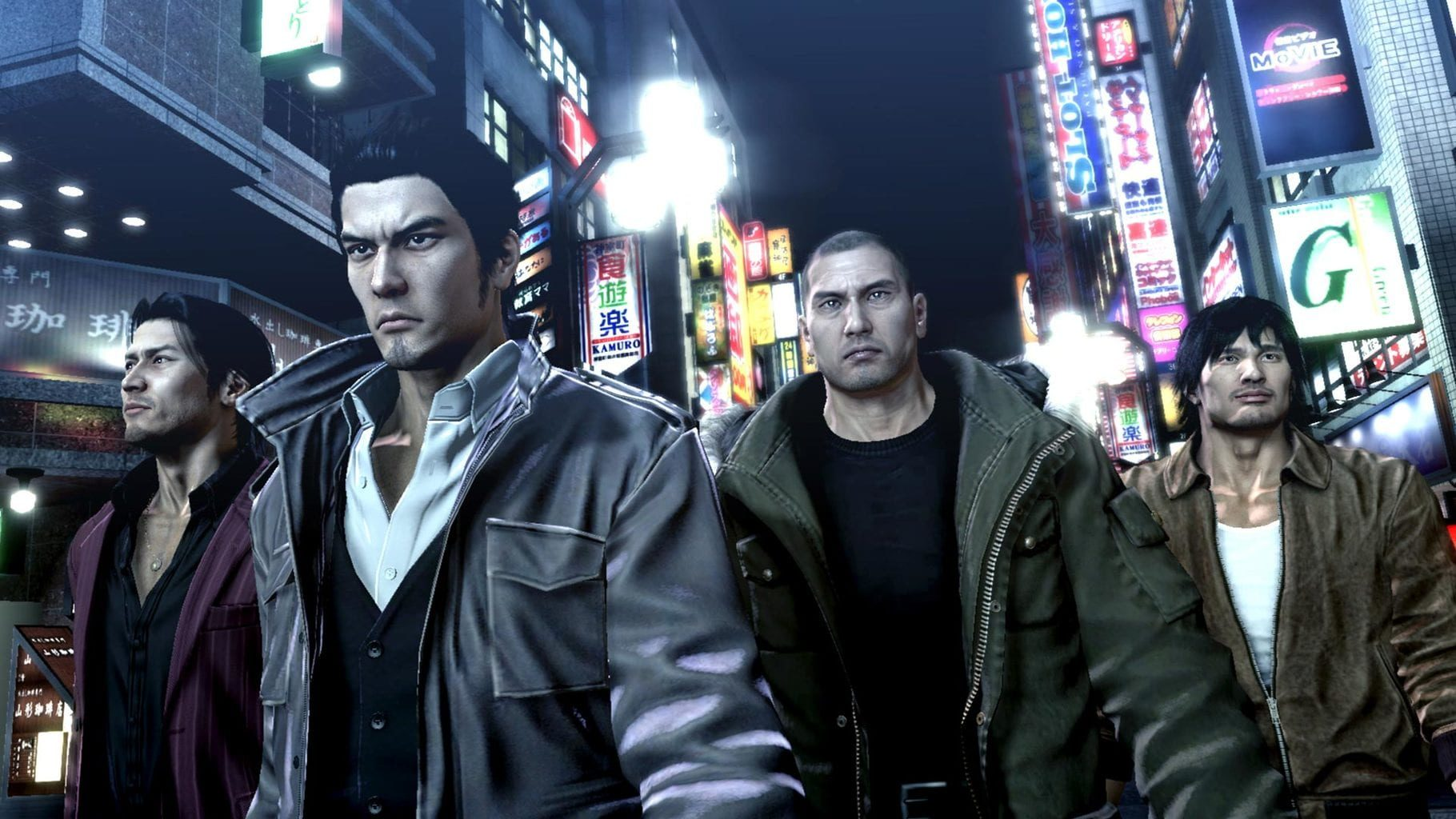 Yakuza 5 Remastered Steam Key GLOBAL