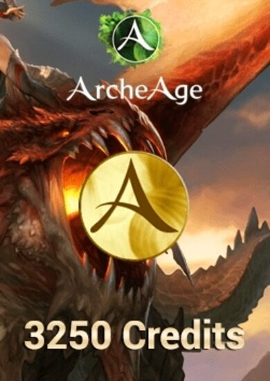 ArcheAge - 3250 Credits Pack Key GLOBAL