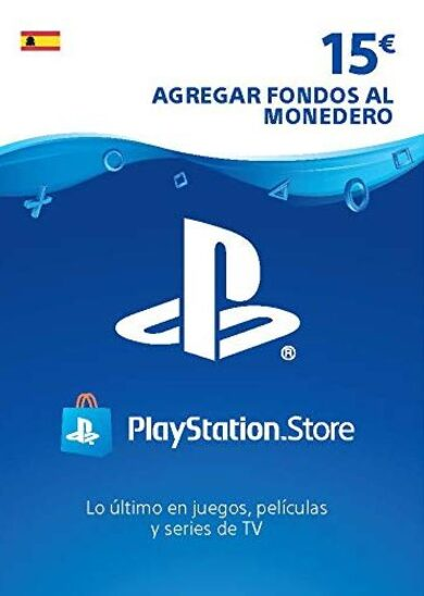 PlayStation Network Card 15 EUR (ES) PSN Key SPAIN