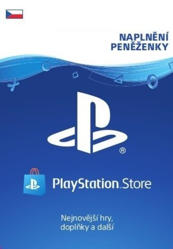PlayStation Network Card 750 CZK (CZ) PSN Key CZECH REPUBLIC