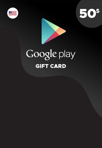 Google Play Gift Card 50 USD Key NORTH AMERICA