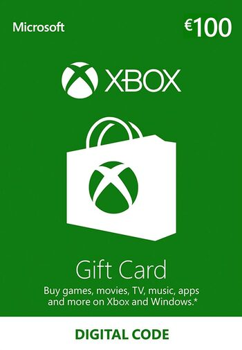 Xbox Live Gift Card 100 EUR Xbox Live Klucz EUROPE
