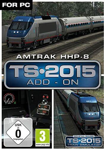 Train Simulator: Amtrak HHP-8 Loco (DLC) Steam Key GLOBAL