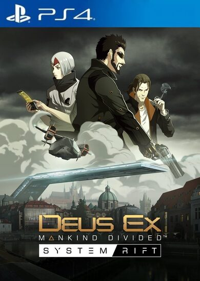 Deus Ex: Mankind Divided - System Rift (DLC) (PS4) PSN Key UNITED STATES