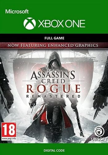 Assassins Creed Rogue Remastered (Xbox One) Xbox Live Key UNITED STATES
