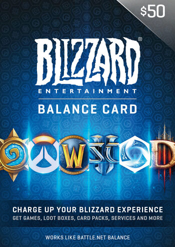 Battle.net Gift Card 50 USD Battle.net Key NORTH AMERICA