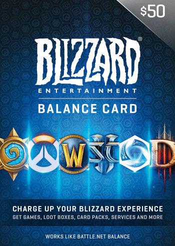 Battle.net Gift Card 50 USD Battle.net Key NORTH AMERICA