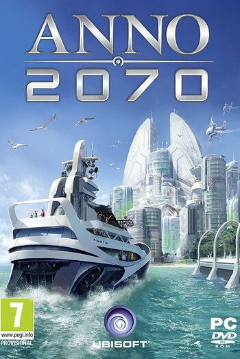 Anno 2070 - 3 DLC Pack (DLC) Uplay Key GLOBAL