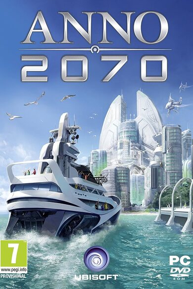 Anno 2070 + 3 DLC Pack Uplay Key GLOBAL