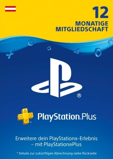 Playstation Plus Card 365 days (AT) PSN Key AUSTRIA