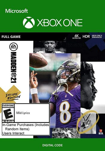 Madden NFL 21 Deluxe Edition (Xbox One) Xbox Live Key UNITED STATES