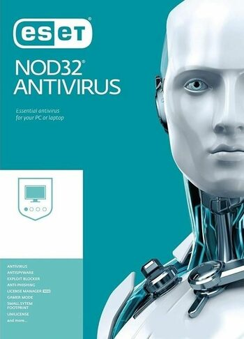 Eset NOD32 Antivirus Variations 1 Device 1 Year Key GLOBAL