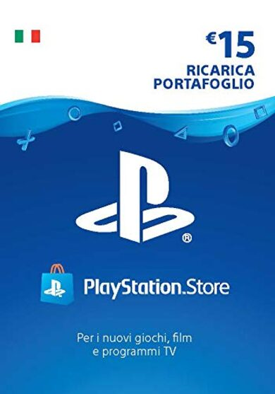PlayStation Network Card 15 EUR (IT) PSN Key ITALY