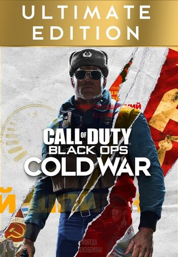 Call of Duty: Black Ops Cold War Ultimate Edition - Green Gift Klucz GLOBAL