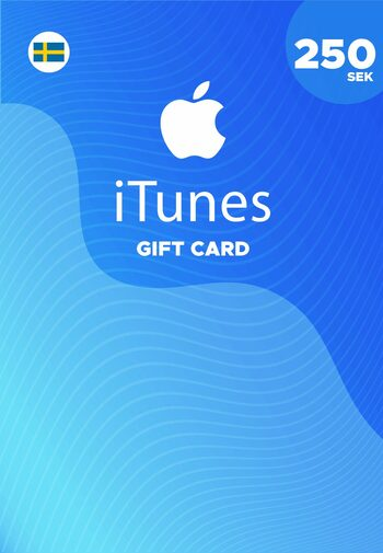 Apple iTunes Gift Card 250 SEK iTunes Key SWEDEN