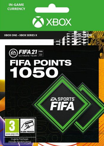 FIFA 21 - 1050 FUT Points (Xbox One) Xbox Live Key GLOBAL