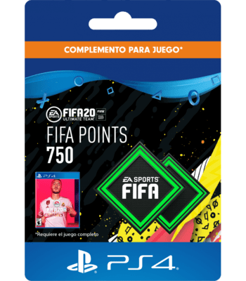 FIFA 20 - 750 FUT Points (PS4) PSN Key CHILE